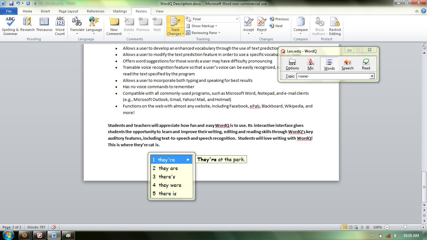 wordq 2 writing aid software piracy